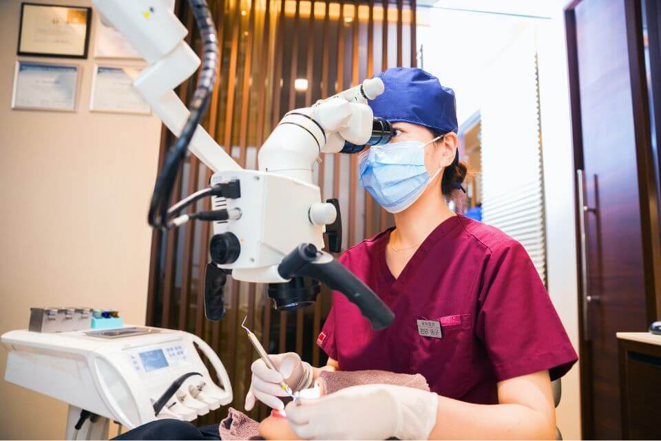 女性歯科医師在籍